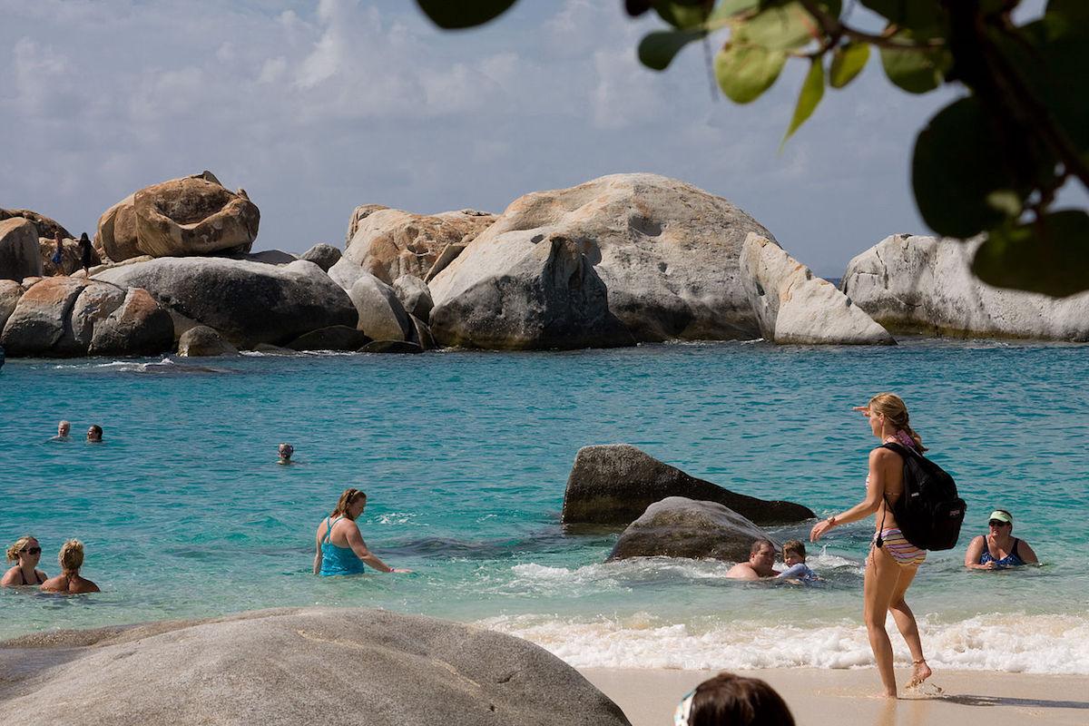 The The Baths, British Virgin Islands