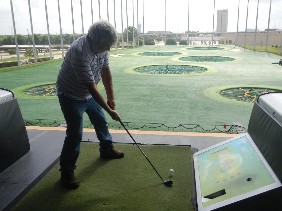 You don't need to be a professional golfer to have fun in Topgolf and with a membership card costing US$5, you can keep track of your score.