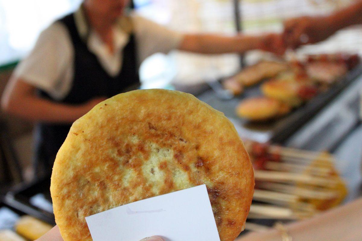 Hoddeok, Sweet Pancake, Korean Food