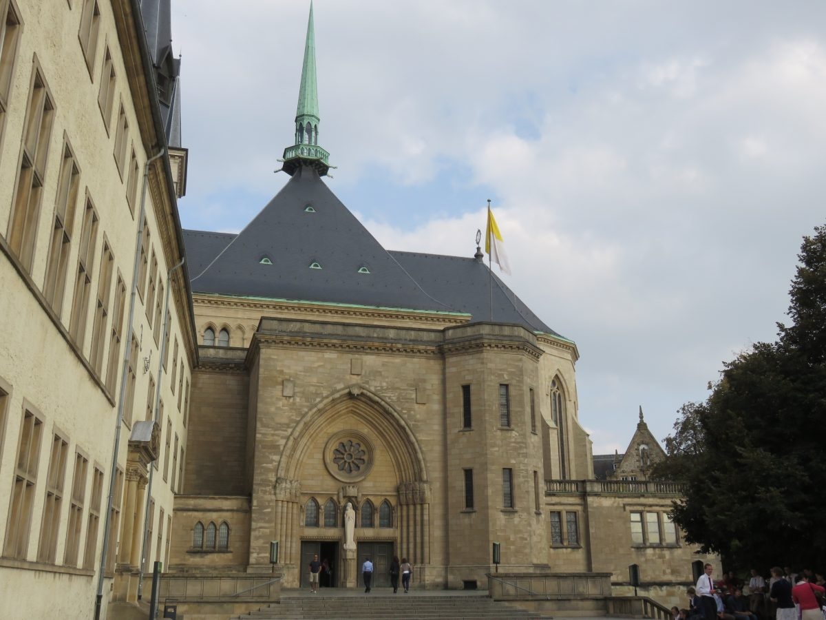 The Notre-Dame Cathedral, also known as The Cathedral of the Blessed Virgin is the only cathedral in Luxembourg.
