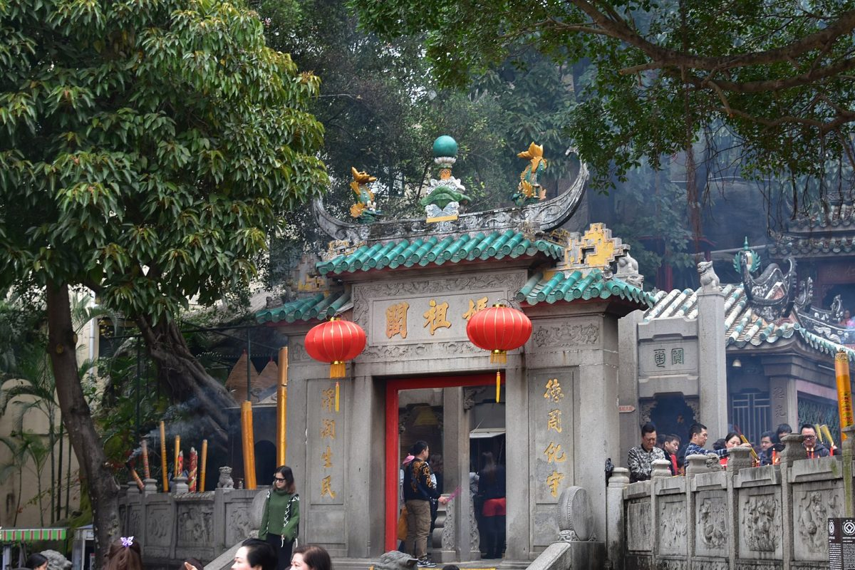 Built in 1488, this beautiful temple pays homage to the Chinese sea-goddess Mazu.