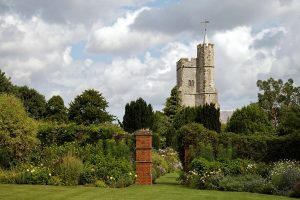 Holy Cross Church, Goodnestone Park Gardens, Kent, England