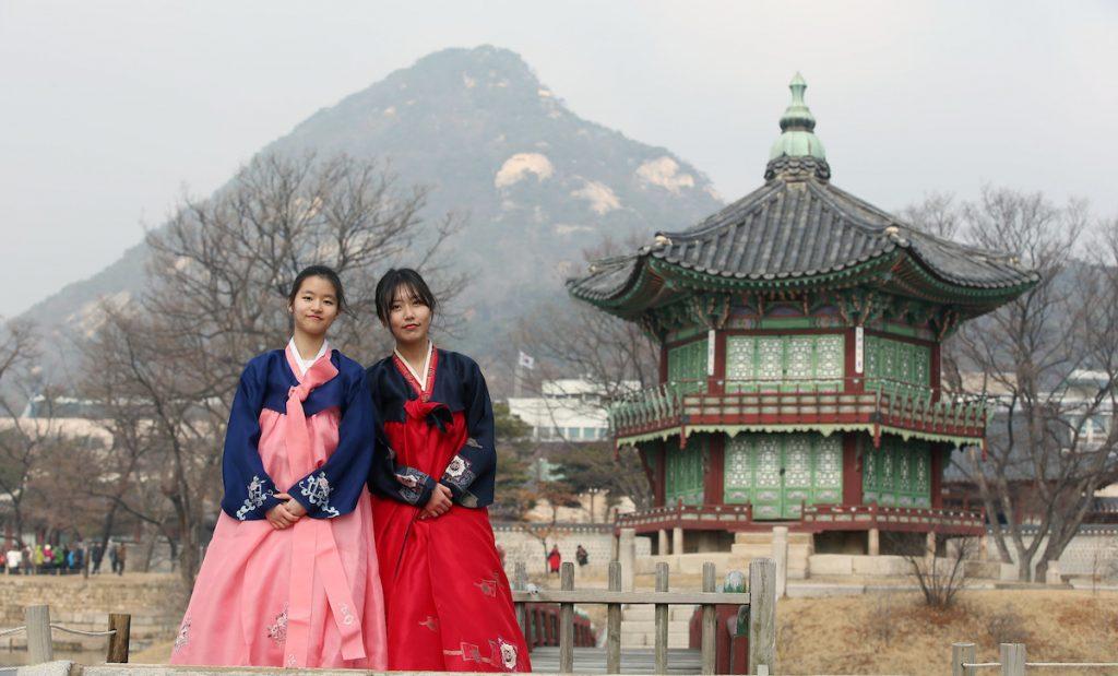 Hanbok costume, South Korea