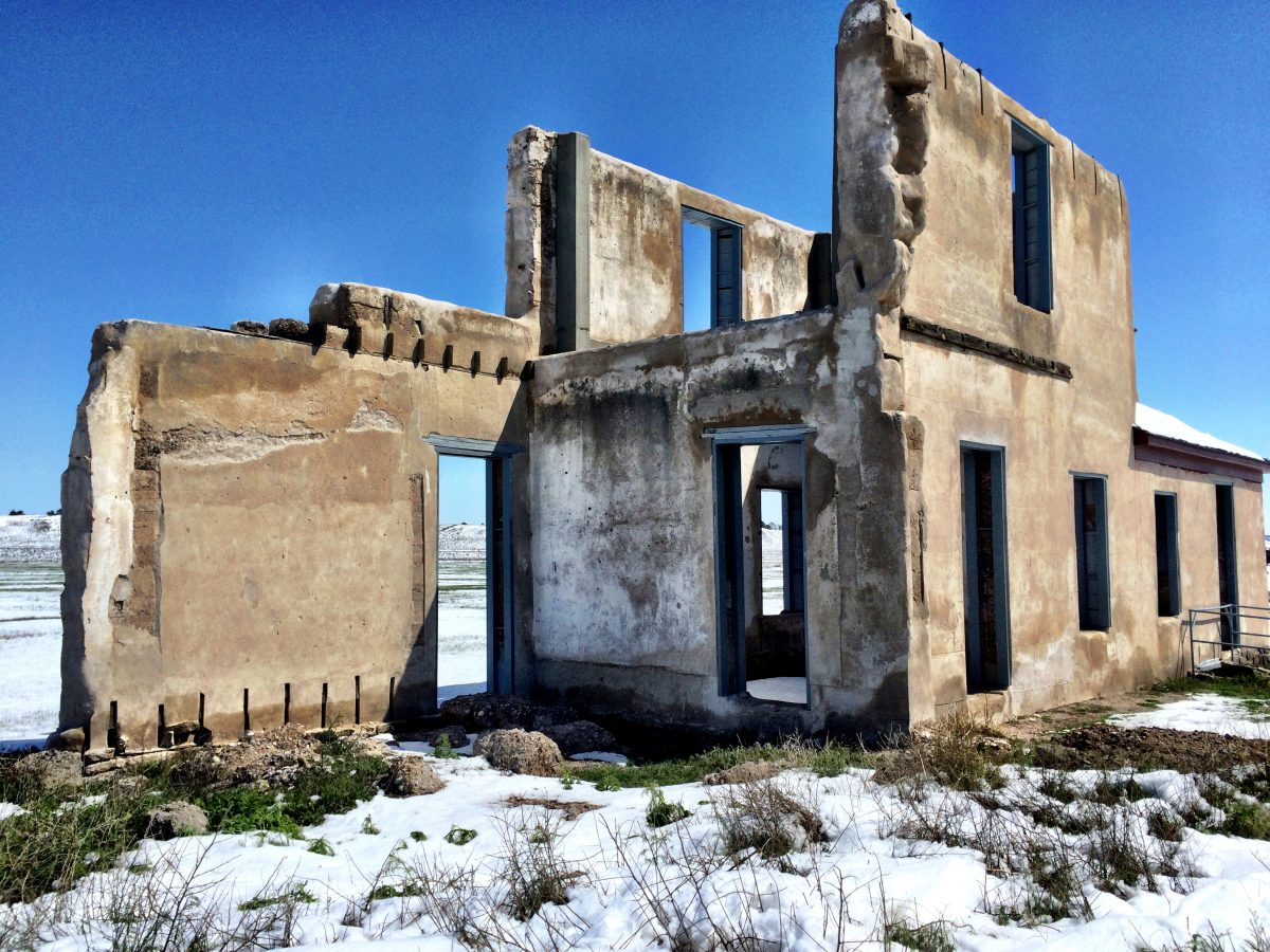 Fort Laramie historical site Ruins