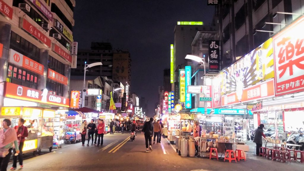 Night market, Kaohsiung