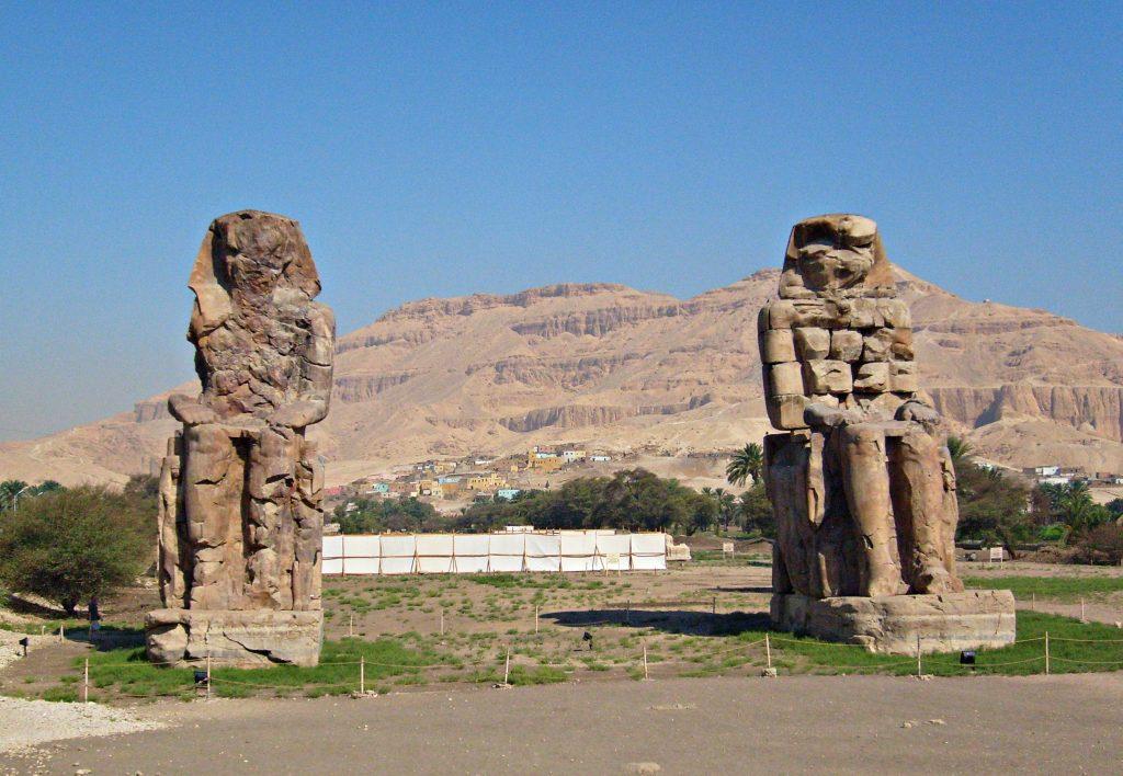 colossi of memnon Egypt