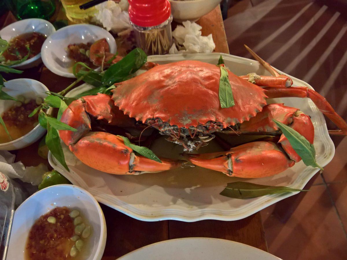 crab, vietnamese food