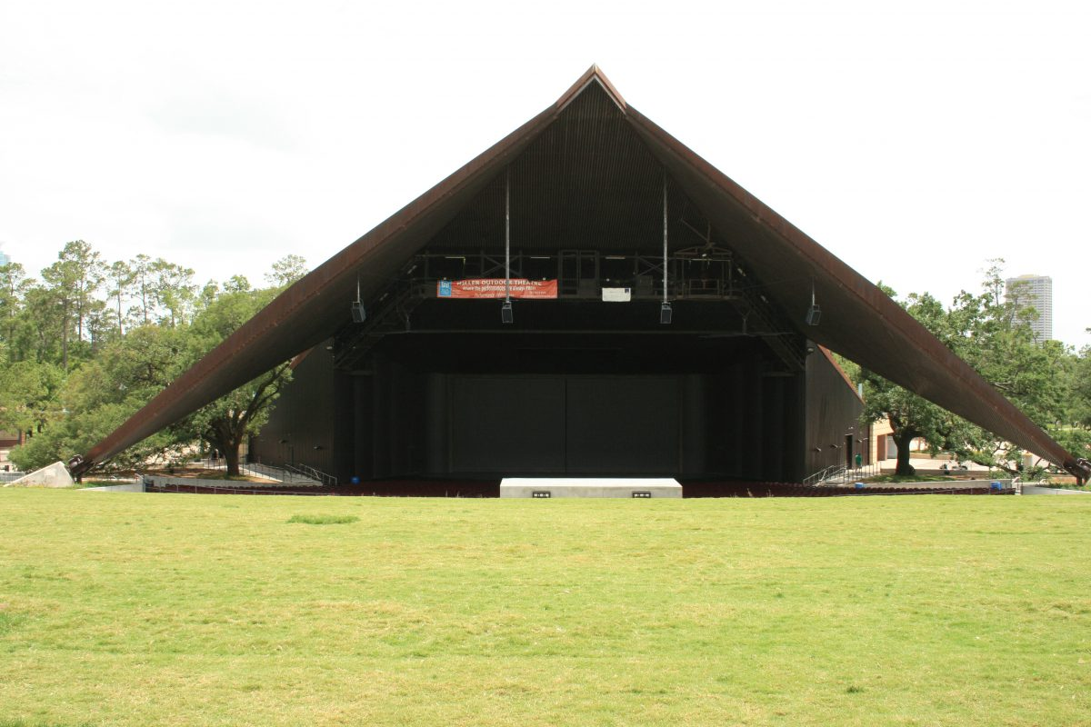 Located in Hermann Park, the Miller Outdoor Theatre is one of a kind in the whole of the United States.
