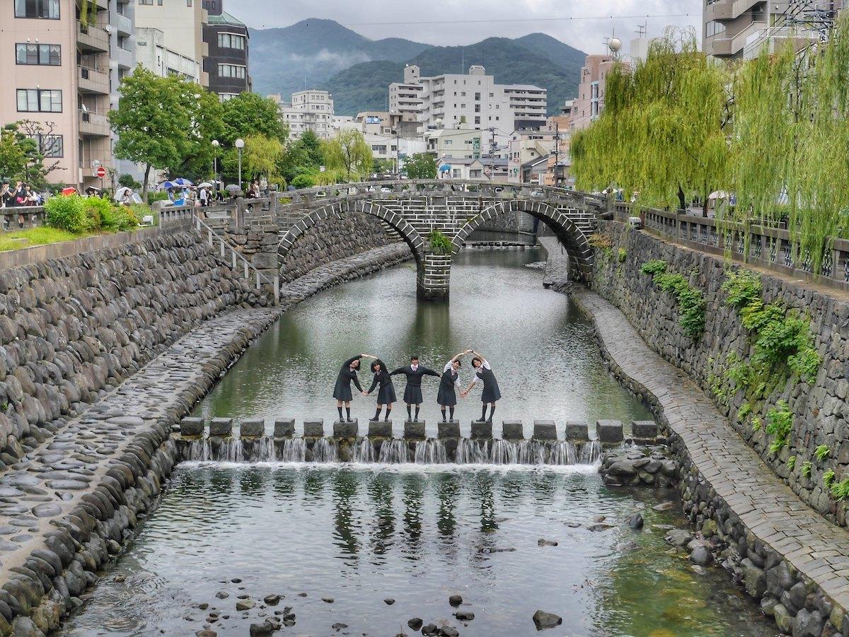 Spectacles Bridge, Nagasaki, Japan