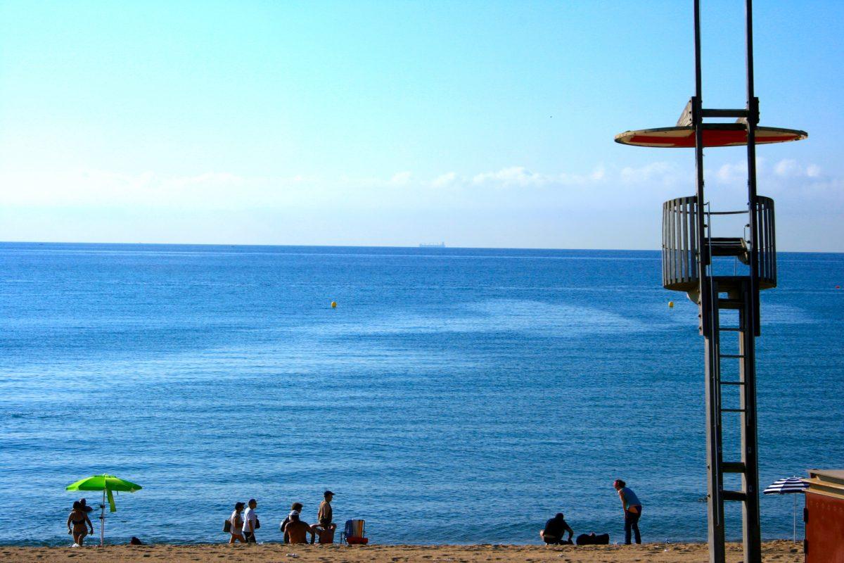 Playa de la Mar Bella, Barcelona