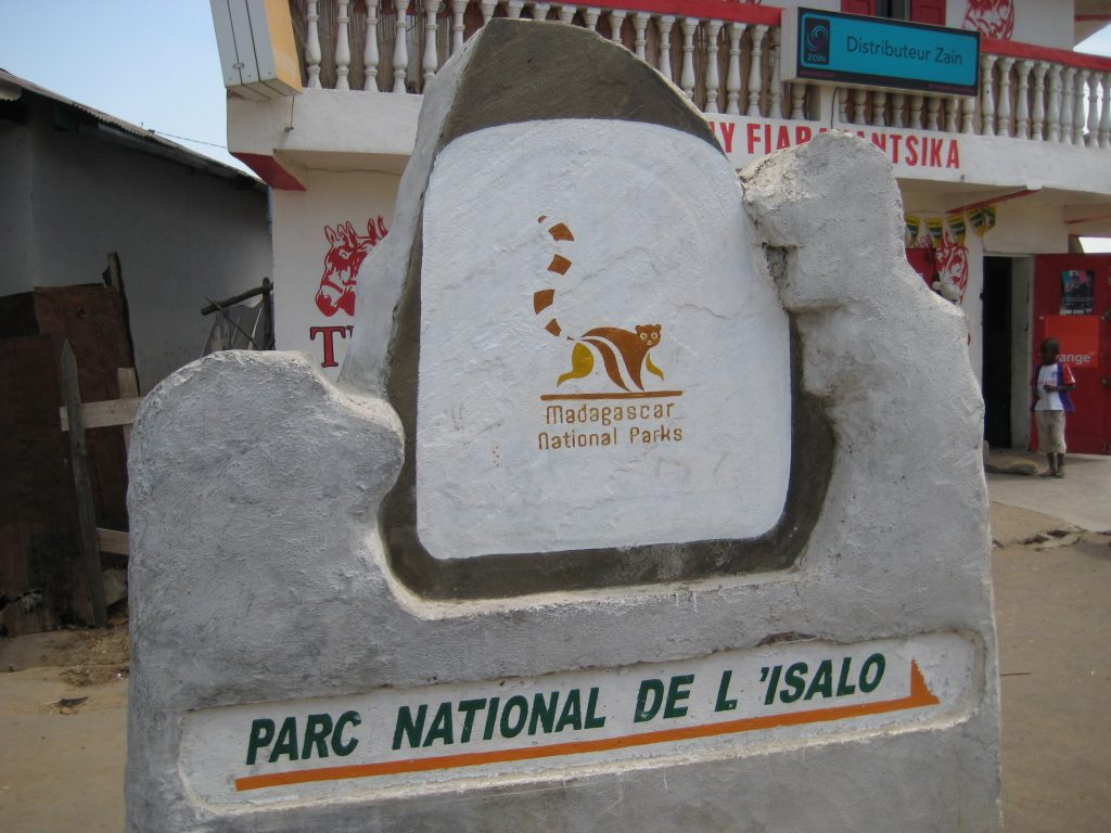 Campground at Isalo National Park