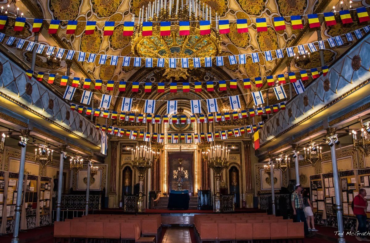 In 1845, Romania's Polish-Jewish community established the Great Synagogue of Bucharest.