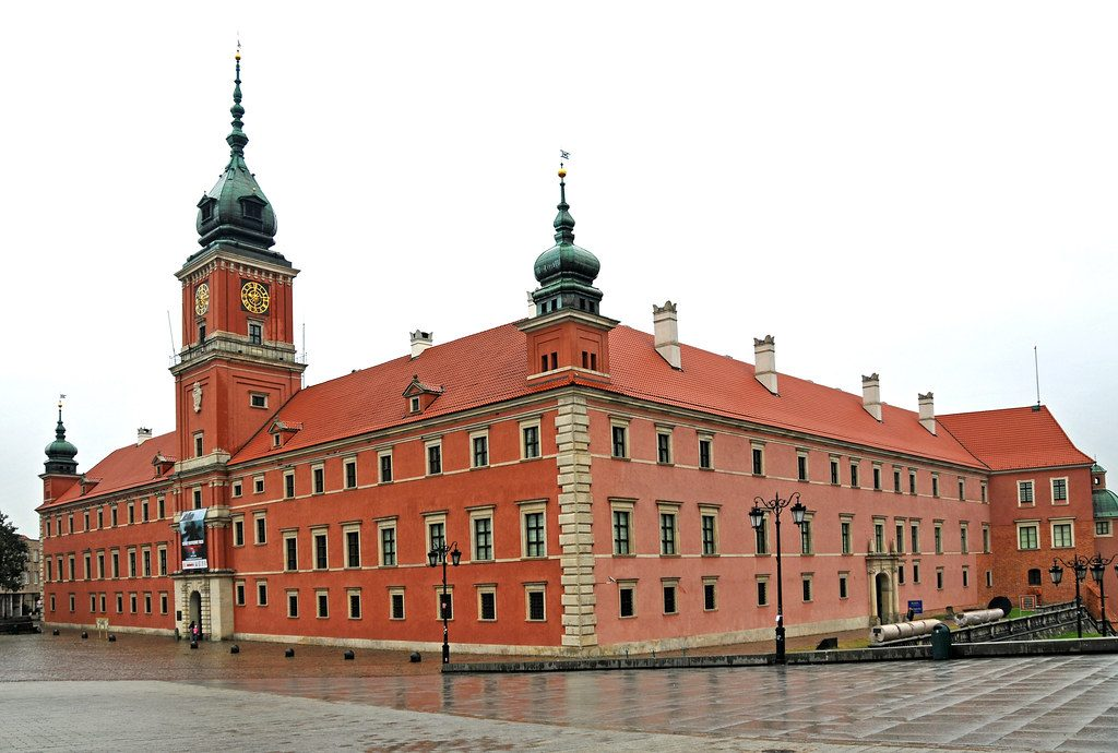 The wonderful Royal castle, Warsaw