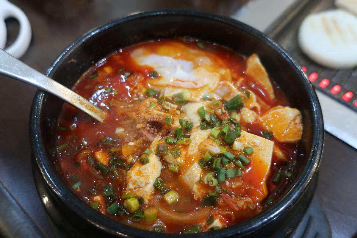 Sundubu Jjigae, Tofu Stew, Korean Food