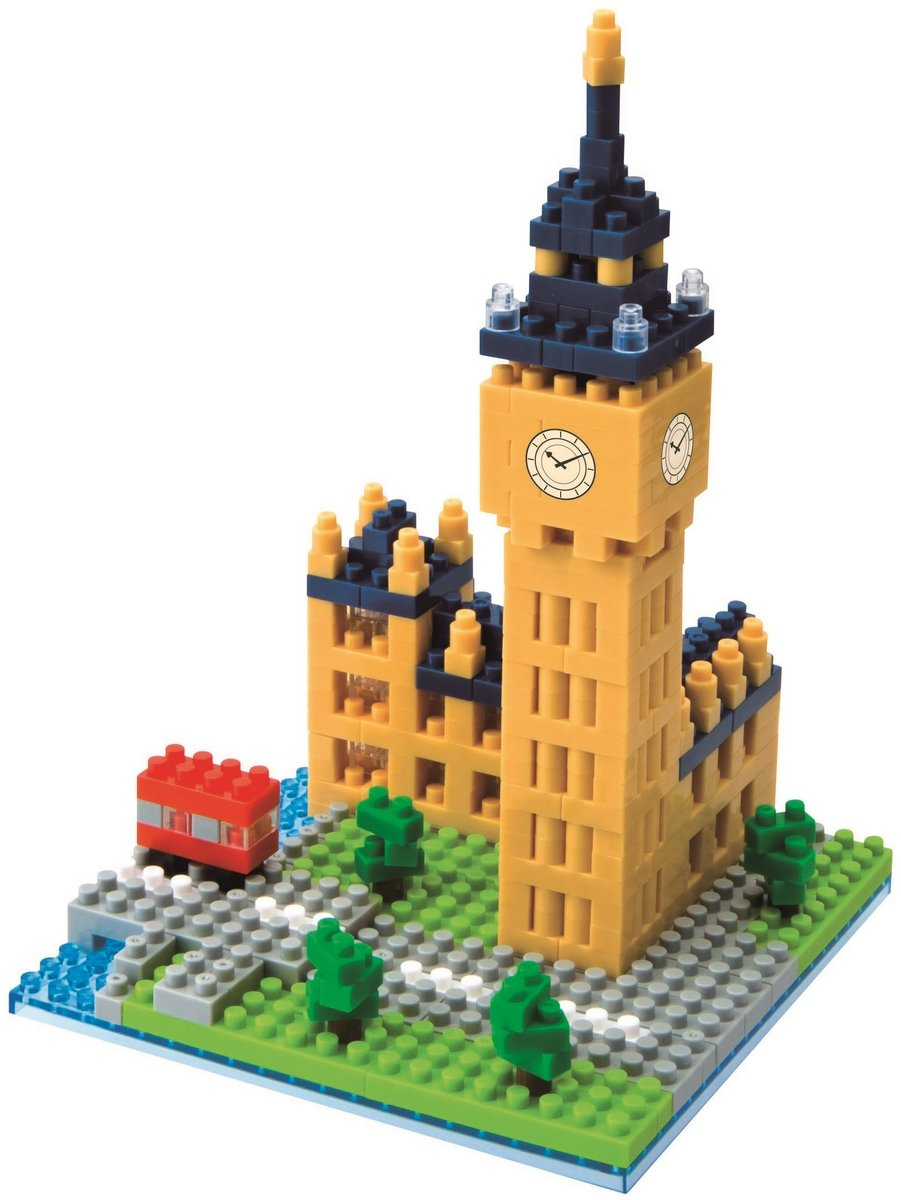 Nanoblock, Sight to See, Architecture, Big Ben