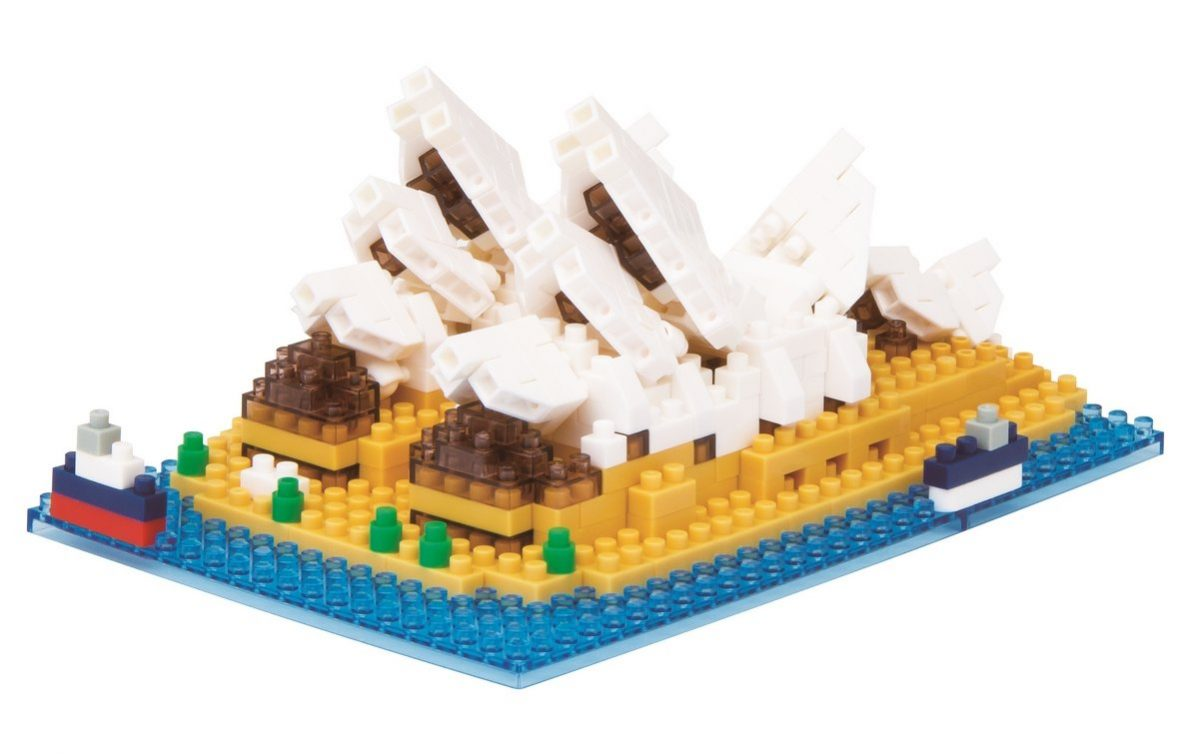 Nanoblock, Sight to See, Architecture, Sydney Opera House