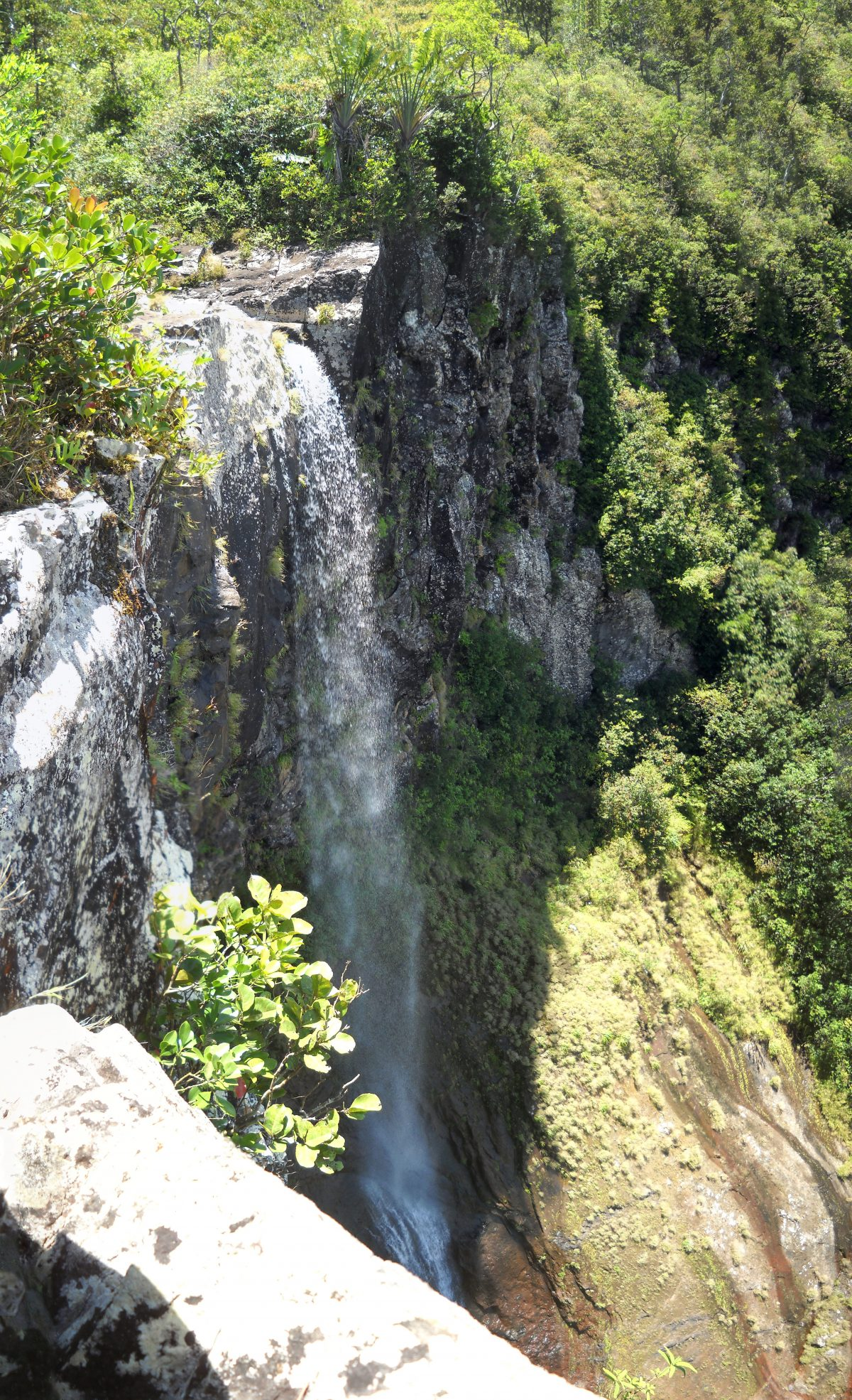 Alexandra Falls in the Black Gorges National Park
