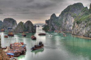 Cruise at Ha Long Bay, Vietnam