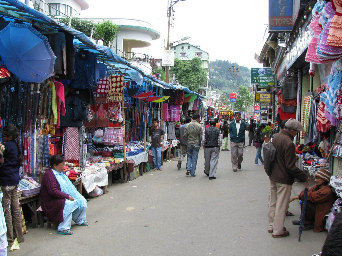 Shopping stalls