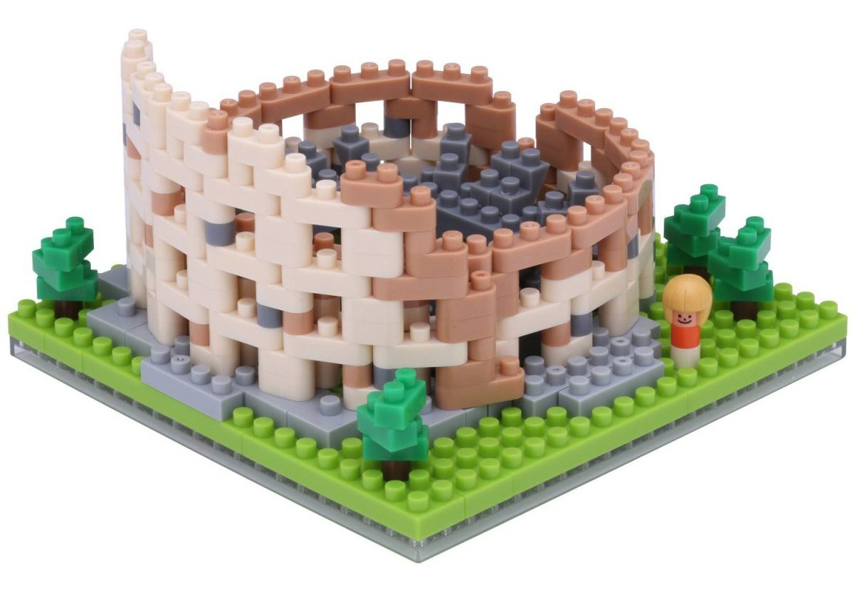 Nanoblock, Sight to See, Architecture, The Colosseum