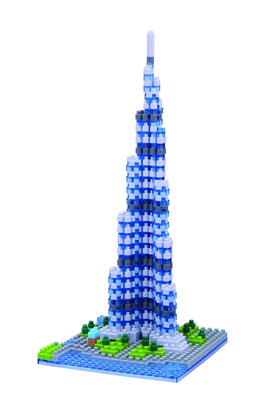 Nanoblock, Sight to See, Architecture, Burj Khalifa