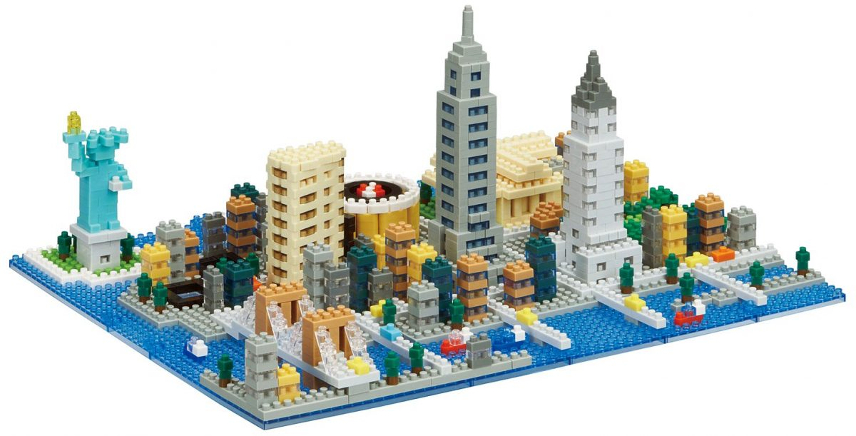 Nanoblock, Sight to See, Architecture, New York