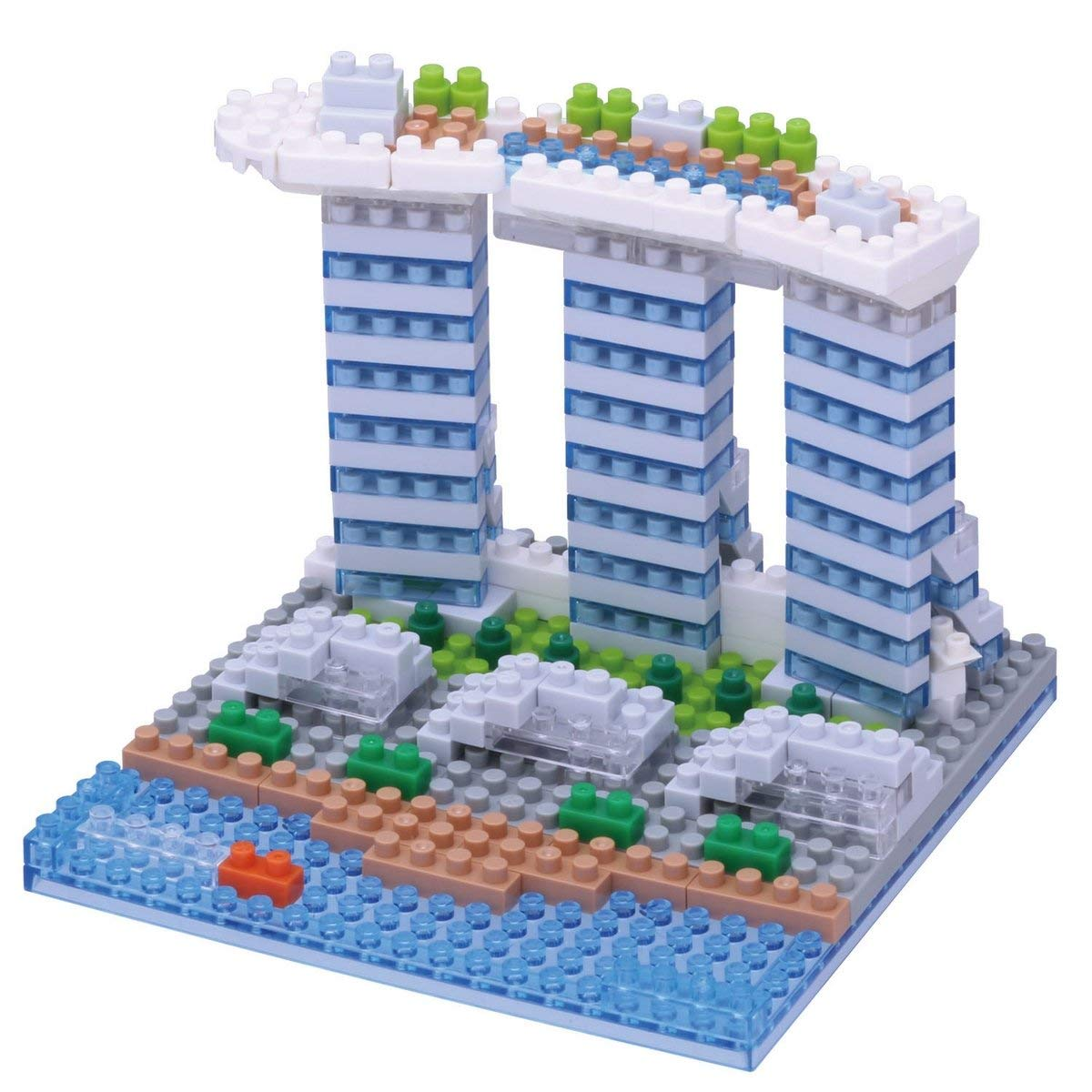 Nanoblock, Sight to See, Architecture, Marina Bay Sands