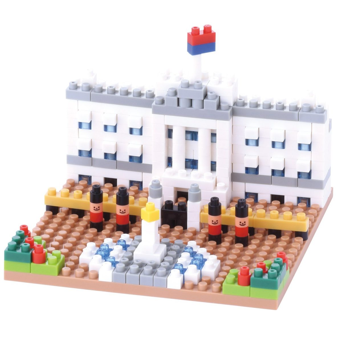 Nanoblock, Sight to See, Architecture, Buckingham Palace