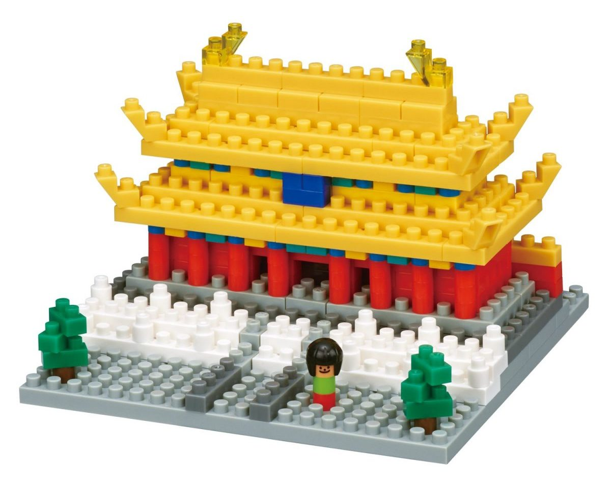 Nanoblock, Sight to See, Architecture, Forbidden City