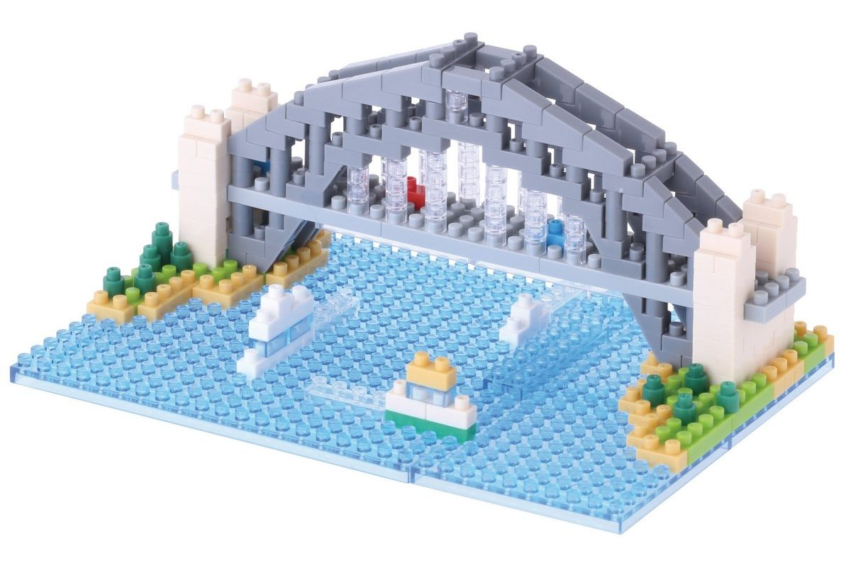 Nanoblock, Sight to See, Architecture, Sydney Harbour Bridge