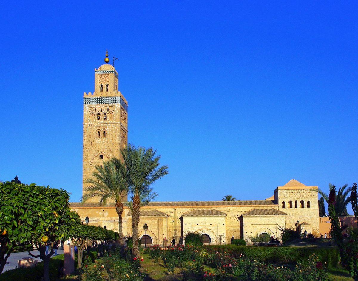 The Koutoubia Mosque in Marrakech, Morocco