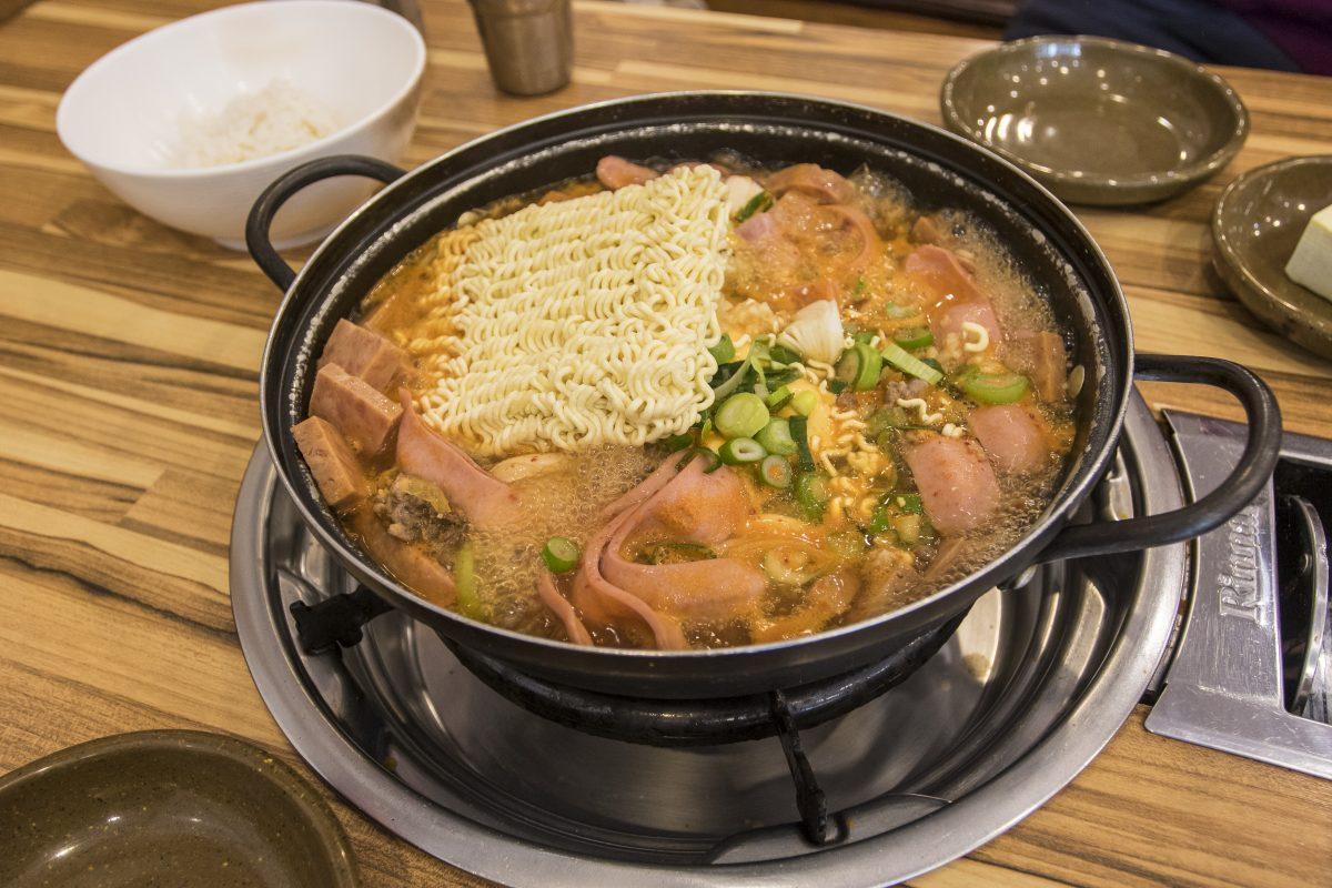 Army Stew, Budae Jjigae, Korean Food
