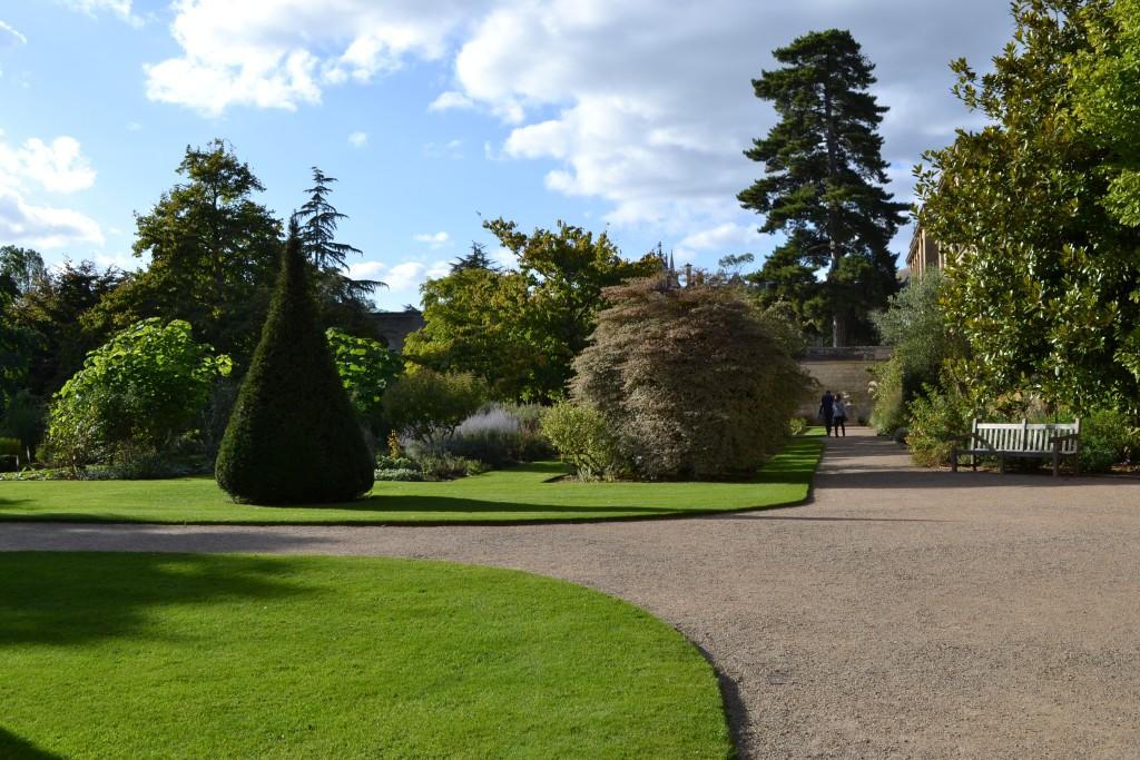Lovely Oxford Botanical Garden