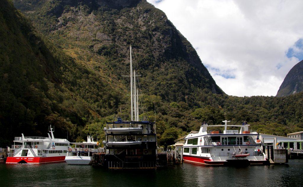 NZ Tour Boats