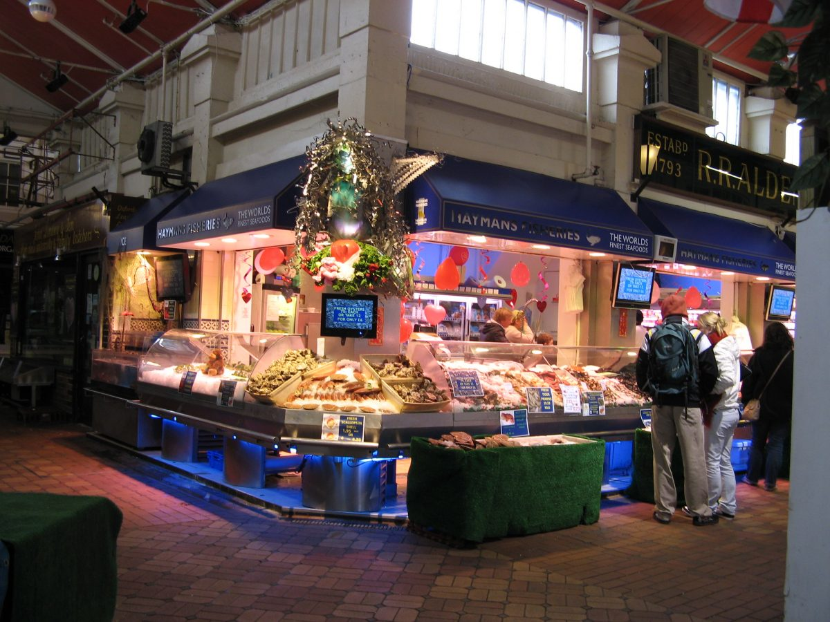 The oxford covered market
