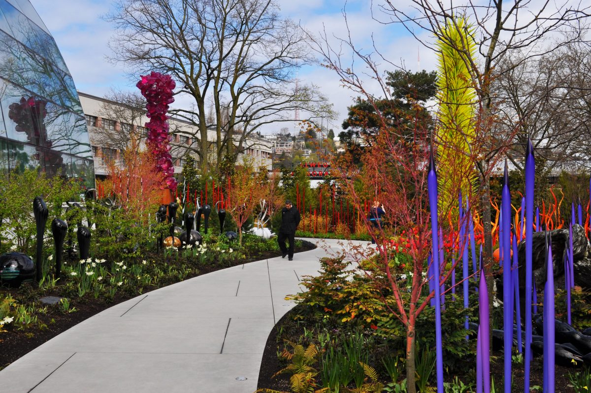 The Chihuly Garden and Glass in Seattle