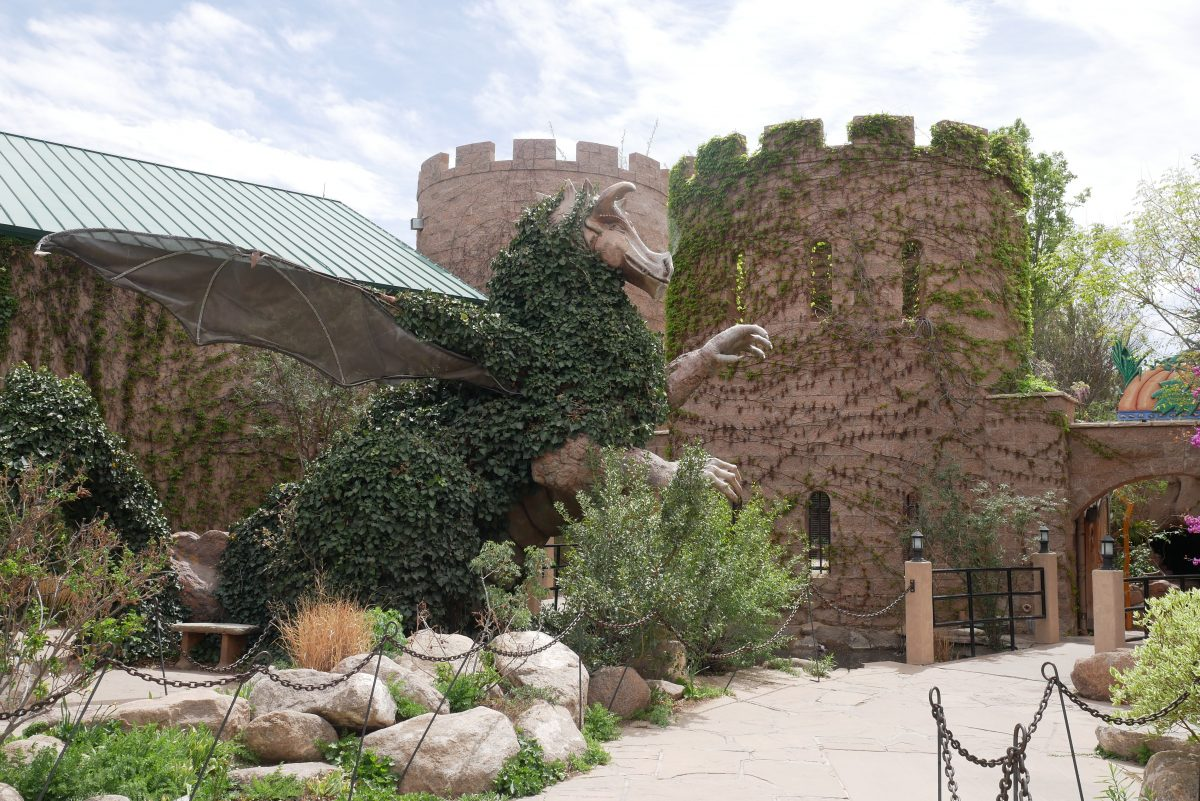 The most popular tourist destination in New Mexico with more than 1.5 million tourists per year is ABQ BioPark.