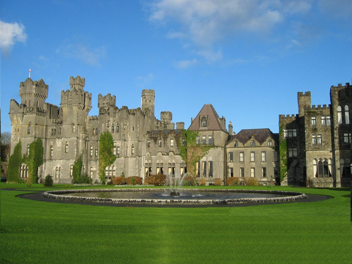 Ashford Castle Ericci8996 Wikipedia commons - 10 Castles That You Should Visit In Ireland