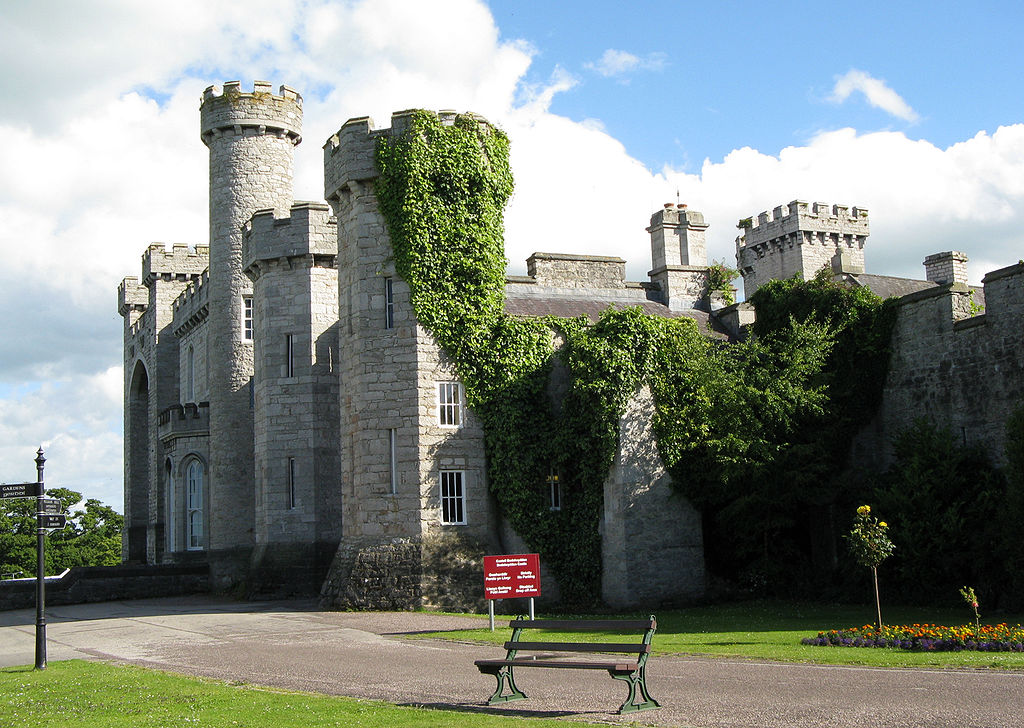 Located in north-east Wales and surrounded by a vast area of parkland with elegant gardens is Bodelwyddan Castle.