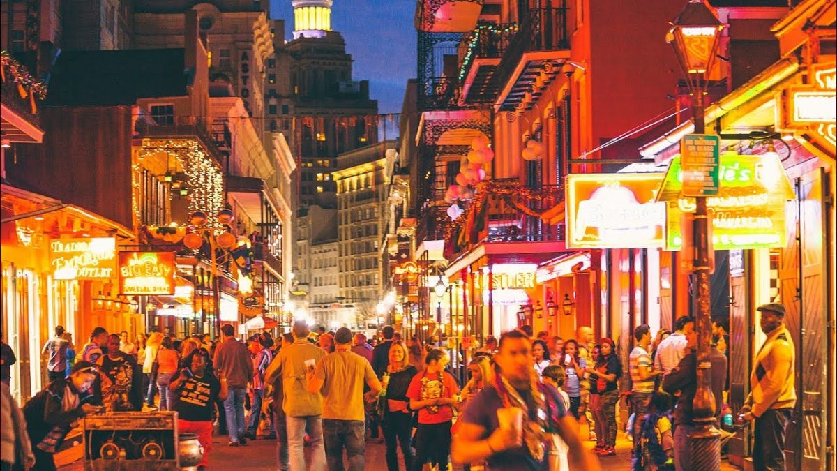 Bourbon Street, Things to do in New Orleans
