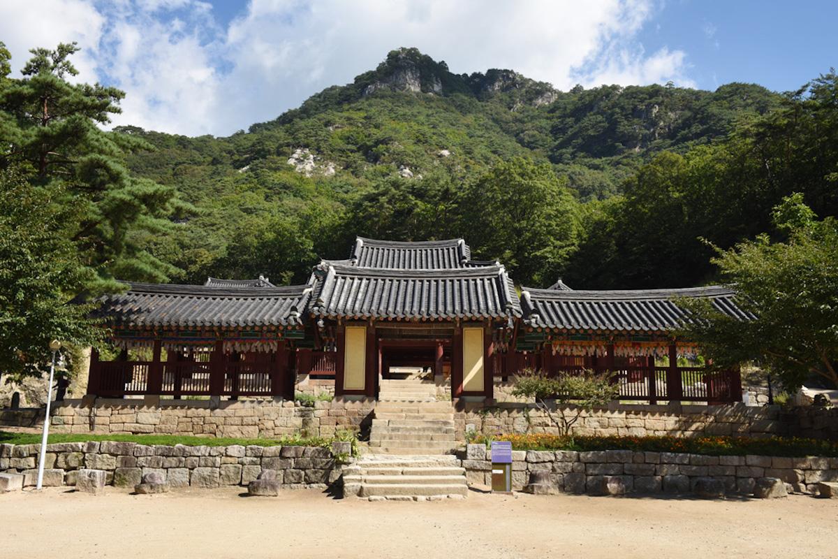 Cheongpyeongsa Temple, Jeonju, South Korea