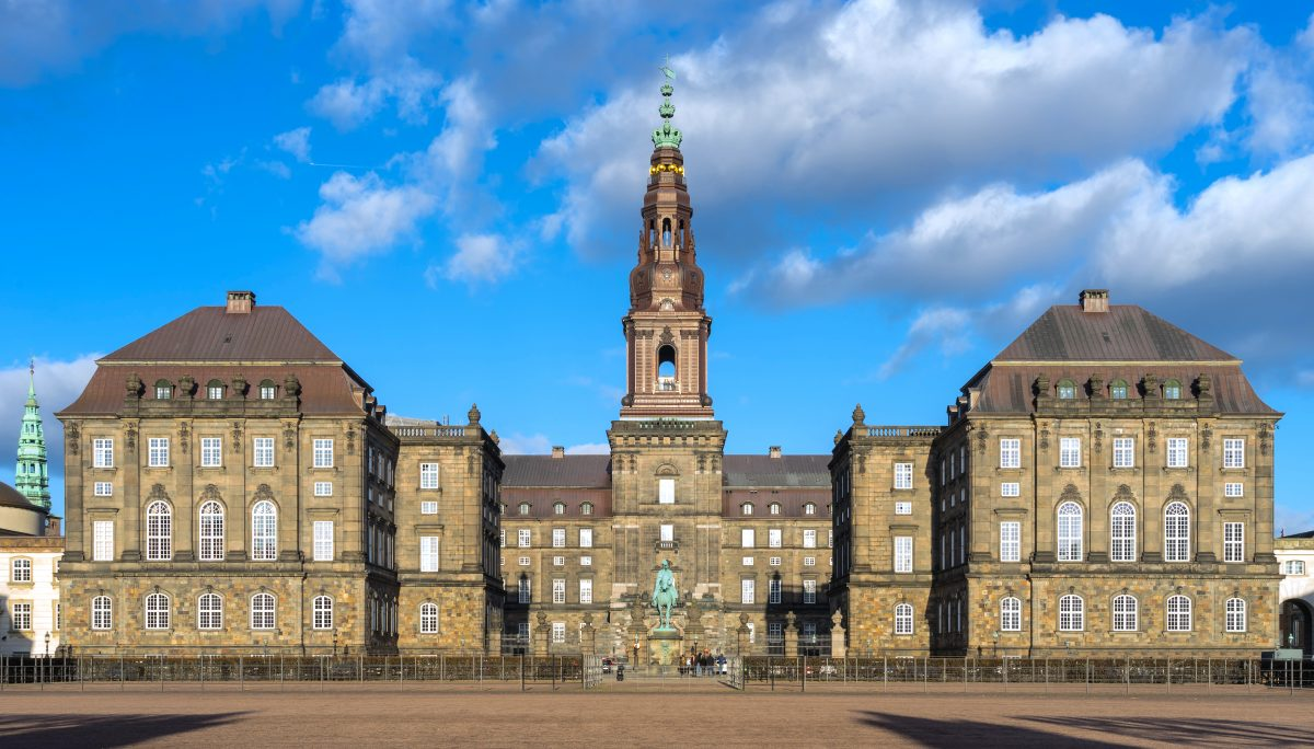 Christianborg Palace Denmark