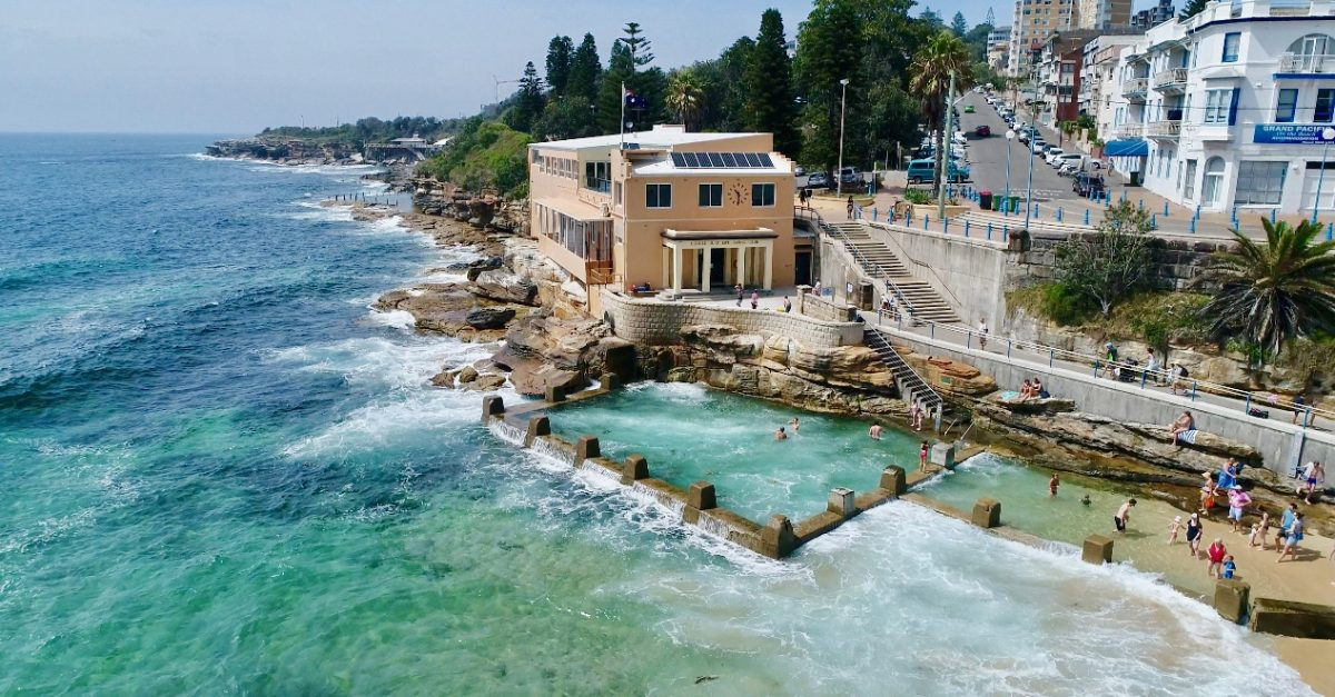 Coogee Beach Photo by Holidays with Kids - 5 Best Beaches in Sydney, Australia