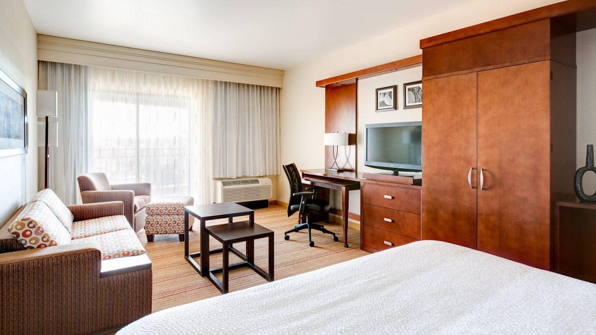 Executive King Guest Room at the Courtyard Marriott Scottsdale Salt River