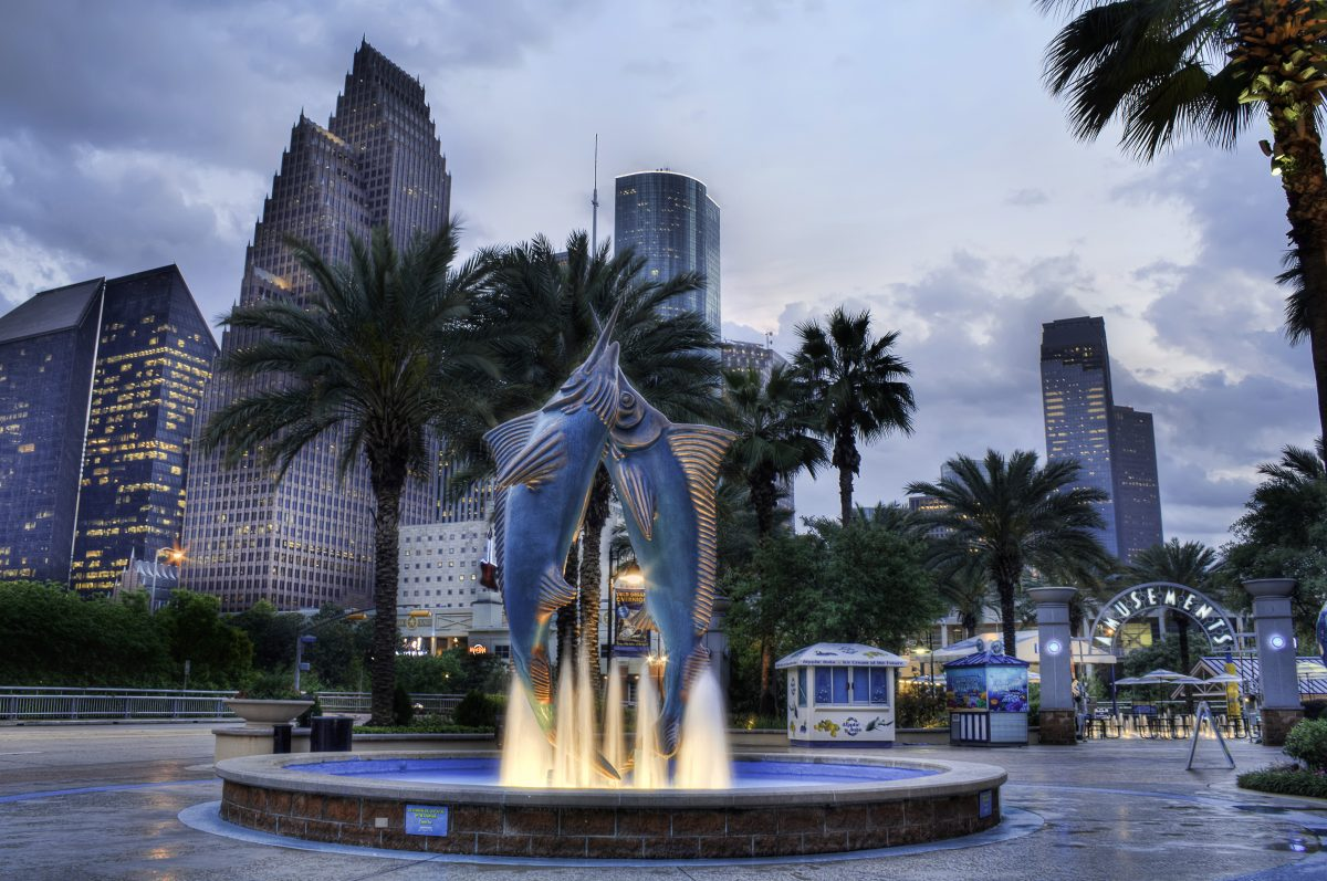 Although mostly known for its restaurants, the Downtown Aquarium offers a variety of things to do.