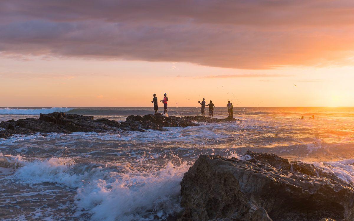 Playa Santa Teresa, Costa Rica.