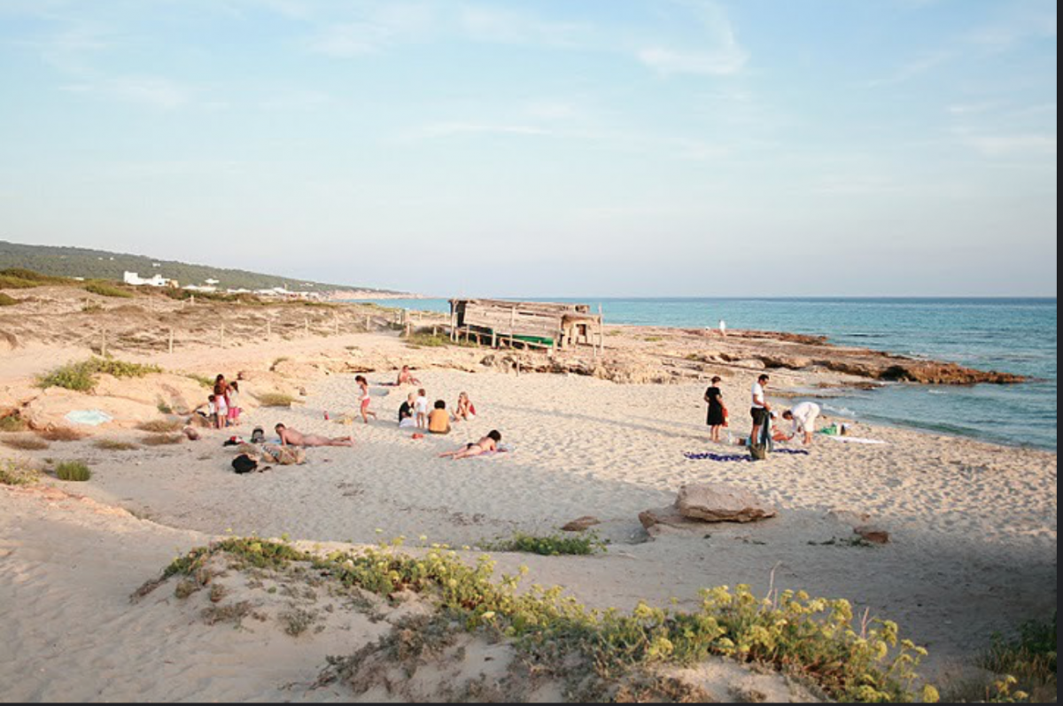 If you're looking for pure, white sugar-sand beaches, then you can find it all here on the island of Formentera.