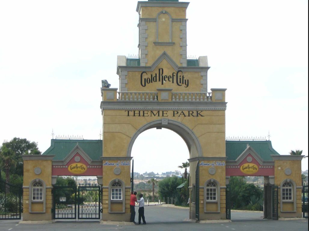 Experience the 'gold rush' as the wind is blowing through your hair and adrenaline is pumping in your veins as you ride one of the very many attractions at the Gold Reef City Amusement Park.