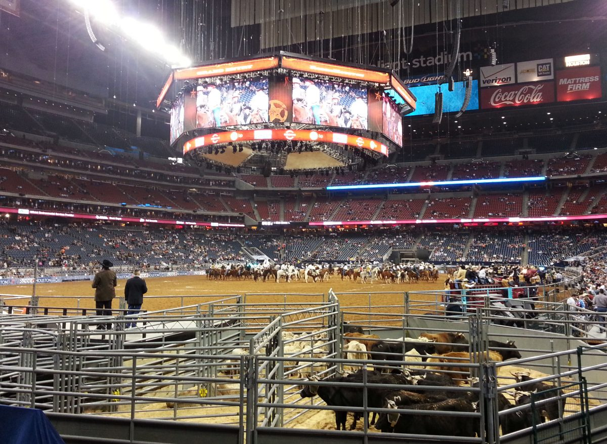 The Houston Livestock Show And Rodeo are annually being held every March in NRG Stadium in Houston, and it lasts for 20 days.