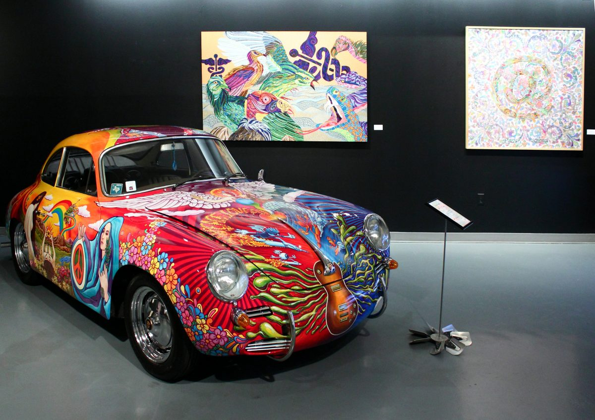 The Art Car Museum was founded in 1998 by Ann and James Harithas and its dedicated to contemporary art.